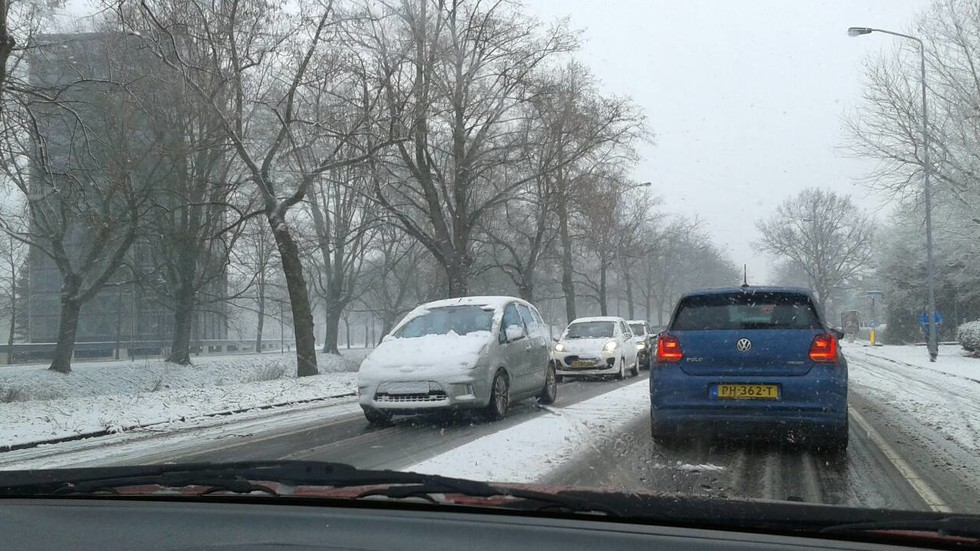 Сняг в Холандия