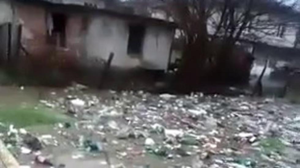 Наводнение в град Средец