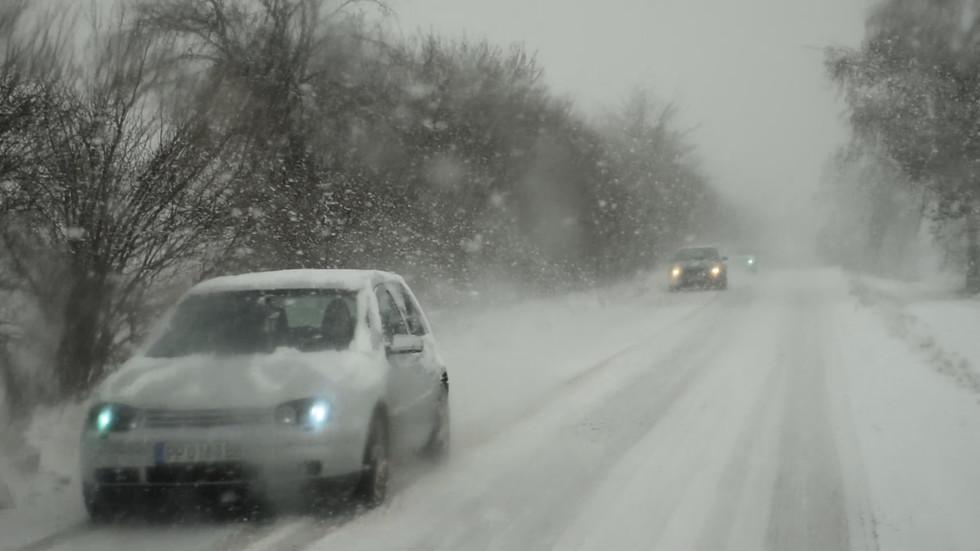 Зимно-пролетни пътища в Разградско!