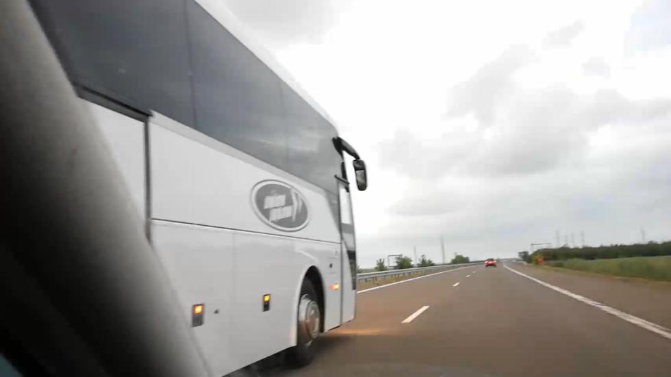 """Поредният автобус-убиец по магистрала """"Тракия"""""""
