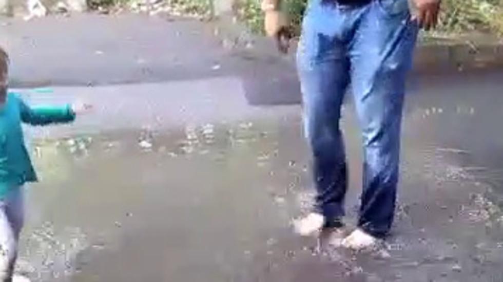 Дъжд в Бургас