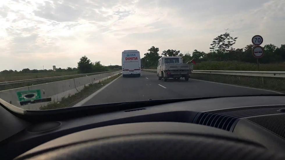 Безразсъдно шофиране на автобус
