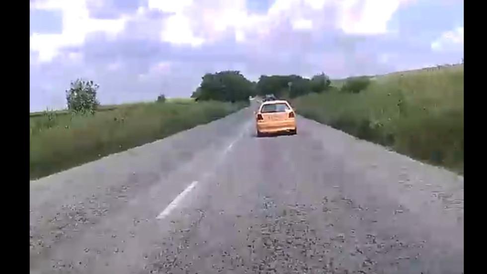 Опасен шофьор на пътя