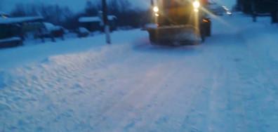 Снегорини чистят
