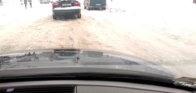 Непочистени улици в Карлово