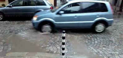 Как изглеждат улиците в София при потоп?