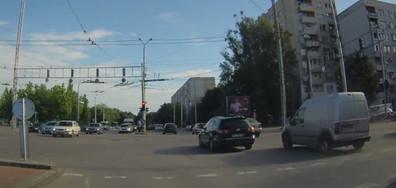 Първи на светофара