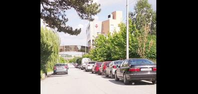Неправилно паркиране в Плевен