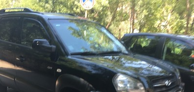 Неправилно паркиране във Велико Търново