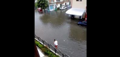 Проливен дъжд в Поморие