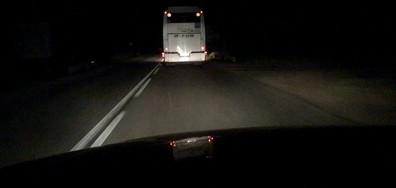 """Автобус """"лети"""" със 110 км/ч"""