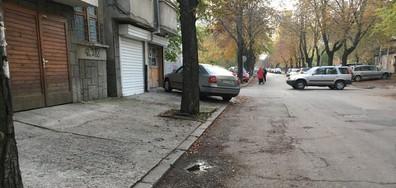Нагло Паркиране и ремонт на тротоар