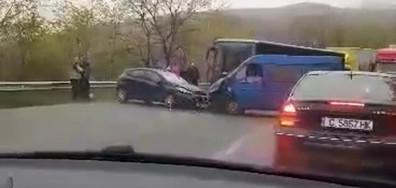Катастрофа на пътя Карлово-Калофер