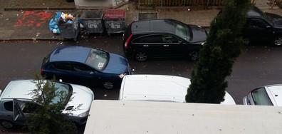 Нагло паркиране в гр. Бургас