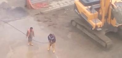 Безконтролно се ползва питейна вода за миене гумите на камионите