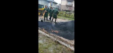 Грубо нарушение при асфалтиране