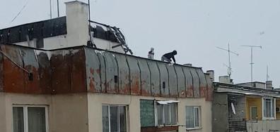 Деца на покрива на 6-етажна сграда - втора част