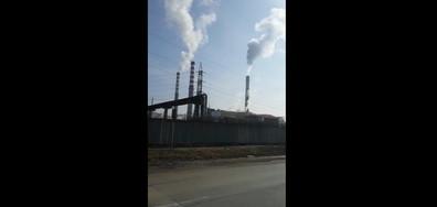Замърсяване на въздуха в София