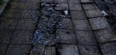 Разрушения след ремонт на ВИК