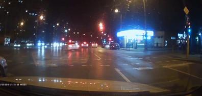 Слалом през два червени светофара