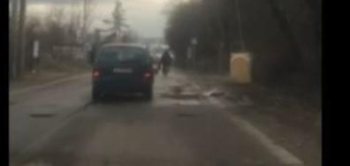 """Дупките на бул. """"Климент Охридски"""", гр. София"""