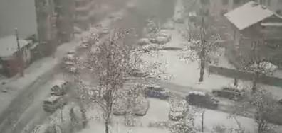 Сняг, непочистени улици