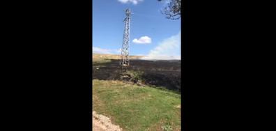 Пожар в Шуменско