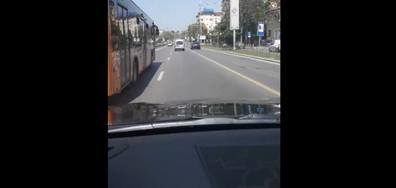 """Шофиране в бус лентата на """"Цариградско шосе"""""""