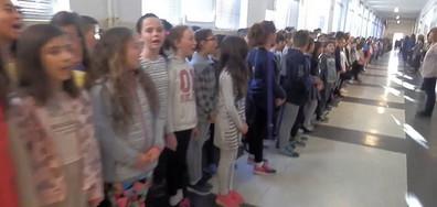 """Поздрав на учениците от ОУ """"Иван Вазов"""" Смолян по повод 24-и май"""