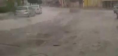 Наводнение и градушка