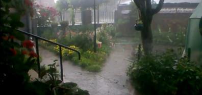 Буря с градушка в село Крива бара