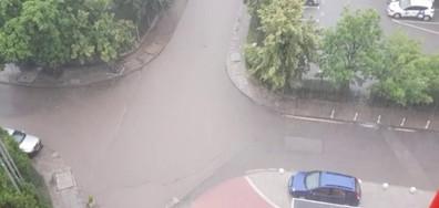 Дъждът в София