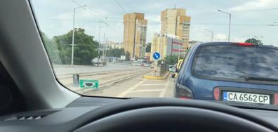 Нарушение на пътя в градски условия