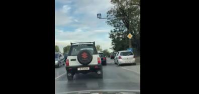 Така се шофира по Околовръстното в София