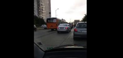 Автобус в насрещното