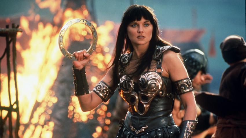 Зина - принцесата воин