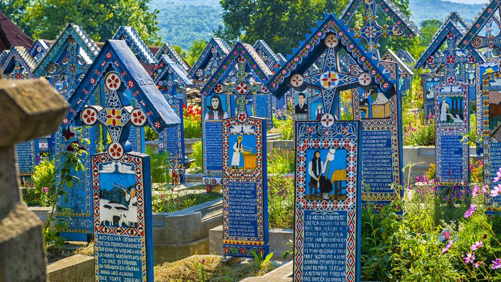 Най-веселото гробище в света