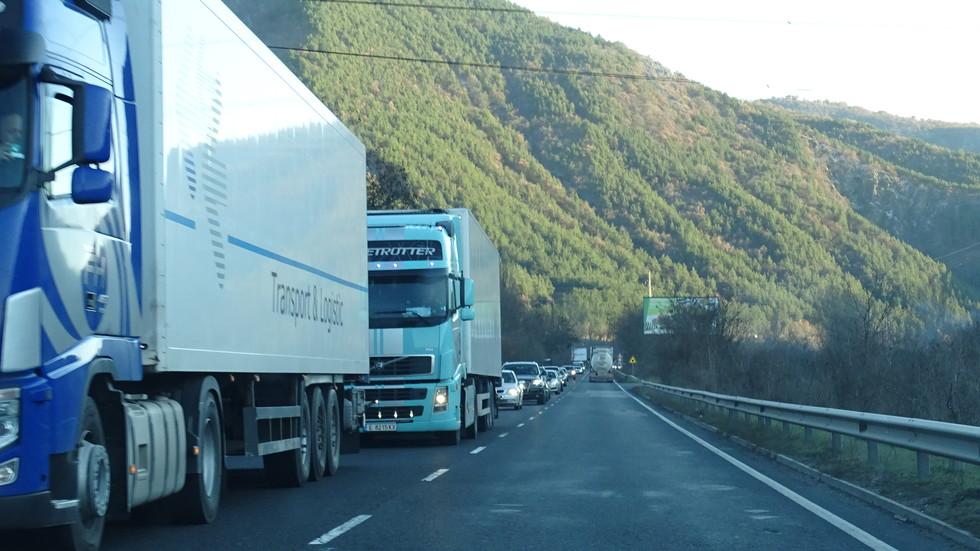 Интензивен трафик на Е-79
