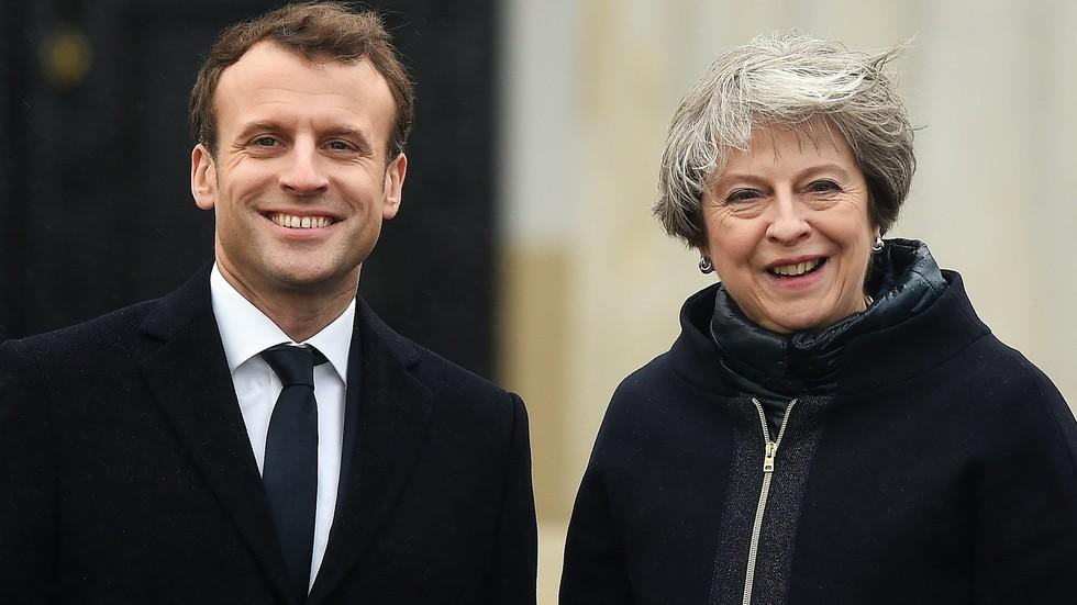 Макрон и Мей обсъждат проблемите след Brexit