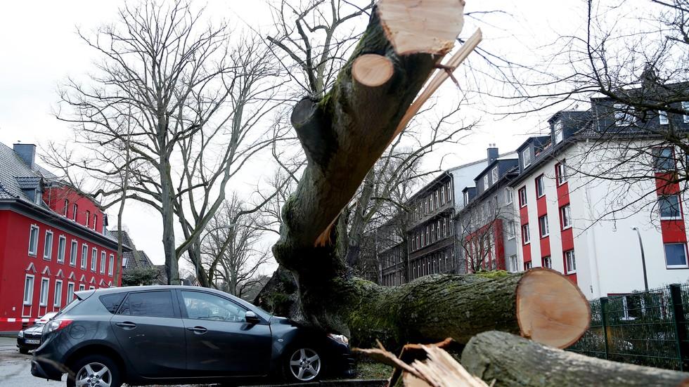 Три жертви на урагана и в Германия