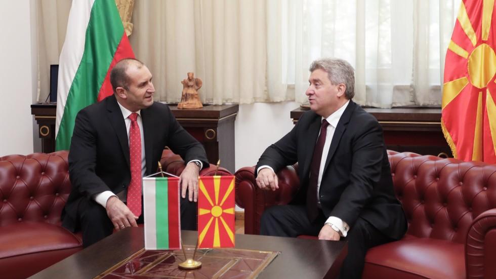 Румен Радев на посещение в Македония