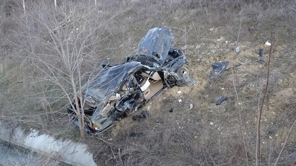 """Жена загина при тежка катастрофа на """"Струма"""""""