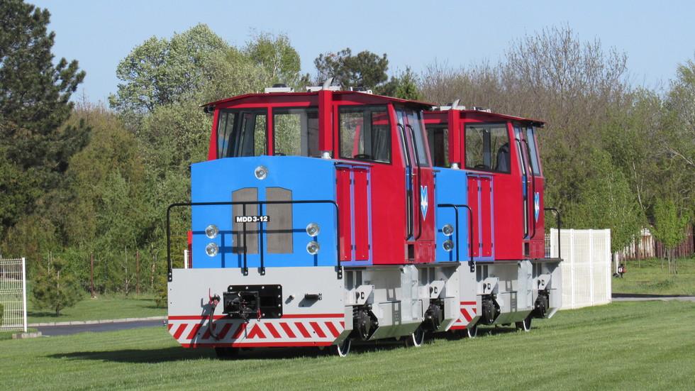 Новите локомотиви на метрото в София