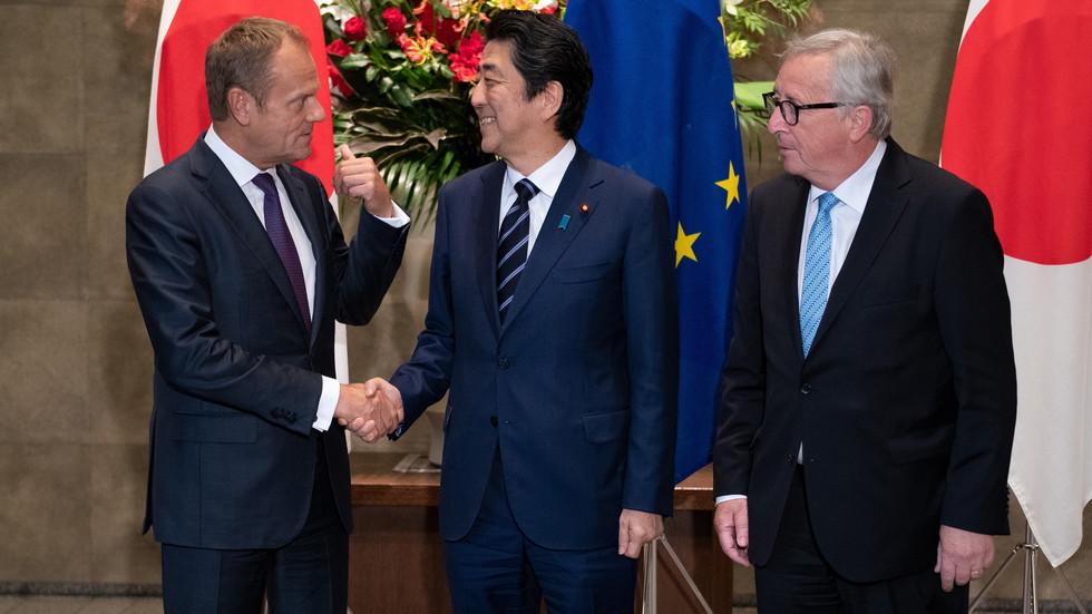 ЕС и Япония подписаха договор за свободен обмен на данни