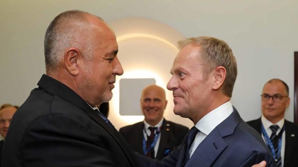 Бойко Борисов: Всяка страна, външна граница на ЕС, трябва да се стегне