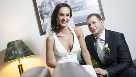 """Сватбата на Светлана и Стефан в """"Женени от пръв поглед"""""""