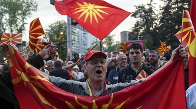 Поредна протестна вечер в Македония