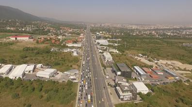Километрично задръстване на Околовръстното в София