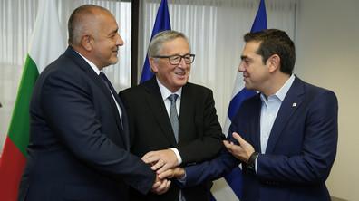Борисов се срещна с Ципрас и Юнкер
