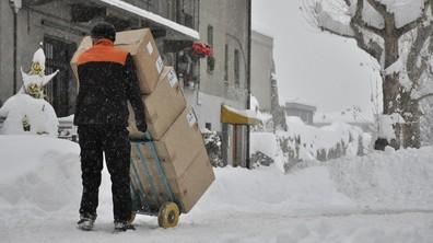 Дебела снежна покривка в Северна Италия